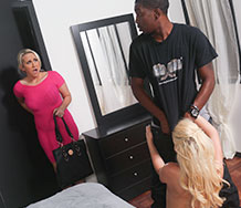 Alana Evans and Miss Dallas
